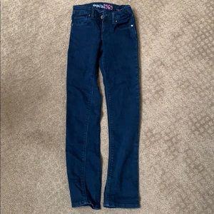 Girls gap kids blue jeans